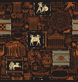 seamless pattern on theme ancient greece vector image