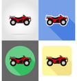 transport flat icons 47 vector image vector image