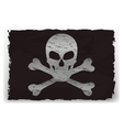 A black pirate flag