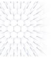 Abstract geometric background hexagonal vector image