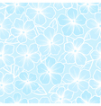 Beautiful seamless background of white and blue vector image vector image