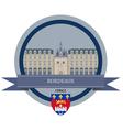 Bordeaux vector image vector image