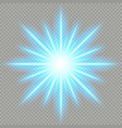 futuristic blue light effect eps 10 file vector image