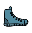 young shoes isolated icon design vector image vector image