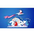 2021 new year card design santa claus and funny