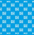 atm pattern seamless blue vector image vector image