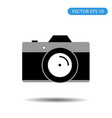 camera icon eps 10 vector image vector image