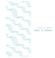 diagonal abstract waves vertical frame seamless vector image vector image