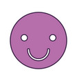 happy face emogy icon vector image