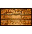 steampunk banners vector image