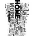 work at home online jobs be your own boss text vector image vector image