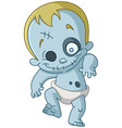 zombie baby vector image