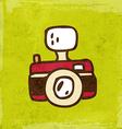 Camera Cartoon vector image vector image