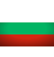 Flag of Bulgaria vector image