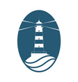 lighthouse light vector image vector image