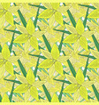 lilies background modern seamless pattern with vector image vector image
