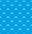 newborn family pattern seamless blue vector image