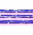 retro watercolor brush stripes seamless pattern vector image vector image