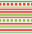 Seamless patterns with fabric texture christmas vector image vector image