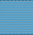 abstract blue waves seamless pattern background vector image vector image