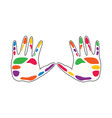 colorful human community vector image vector image