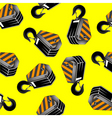 crane hooks vector image vector image