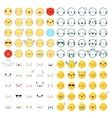 Emoticons Big Set vector image vector image