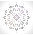 Mandala Ethnic decorative elements Hand drawn vector image