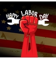 Usa labor day background vector image vector image