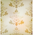 Vintage damask ornamental background vector image