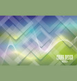 abstract bright glass rhombus composition vector image