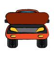 car icon image vector image