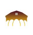 chicken farm emblem egg farm logo poultry factory vector image vector image