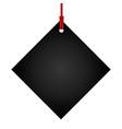 empty label vector image vector image