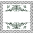 frame patterns vector image vector image