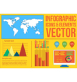 Infographics 3 vector image vector image
