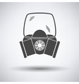 Fire mask icon vector image