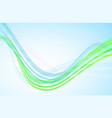 blue wave background vector image