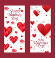 14 february happy valentine day concept poster vector image