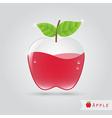 apple fruit juice vector image