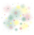 background colored spots yellow red green on vector image