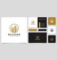 building real estate logo design and business