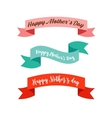 Happy Mothers Day ribbons banners vector image vector image