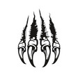monster claw beast wild animal or dragon scratch