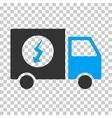 Power Supply Van Eps Icon vector image vector image