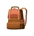 School bag icon cartoon style vector image vector image