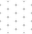 seamless pattern with fine geometric shapes vector image