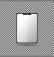 tablet with blank screen eps10 vector image vector image