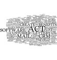 the benefits of act text background word cloud