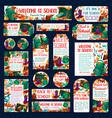 back to school education banners posters vector image vector image